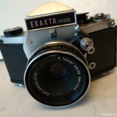 Cámara de fotos: PRECIOSA EXAKTA VX500 CON TESSAR 2.8/50.FUNCIONA.. Lote 178897163