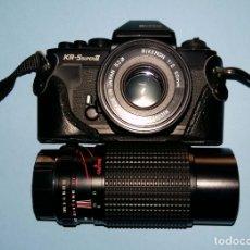 Cámara de fotos: RICOH KR-5 SUPER II. ZOOM. EXTRAS. Lote 179159145