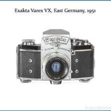 Cámara de fotos: EXAKTA VAREX VX, REFLEX MONOCULAR DE PROBADA SOLVENCIA. ALEMANIA 1951. MUY BUEN ESTADO. Lote 179077371