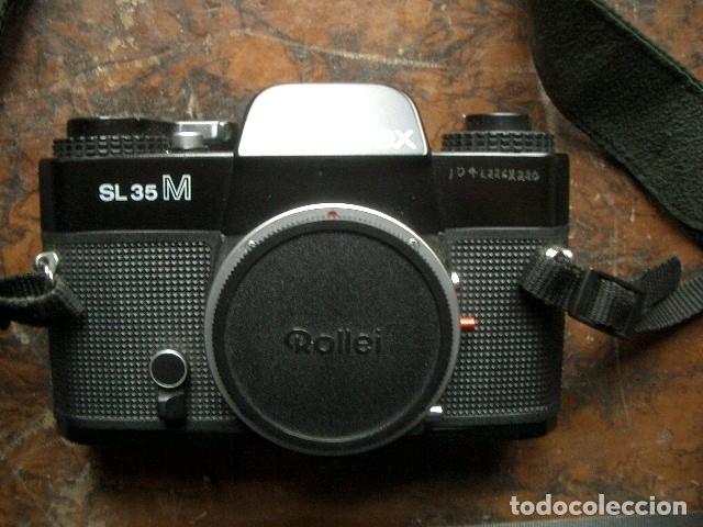 ROLLEIFLEX SL 35 M CUERPO (Cámaras Fotográficas - Réflex (no autofoco))