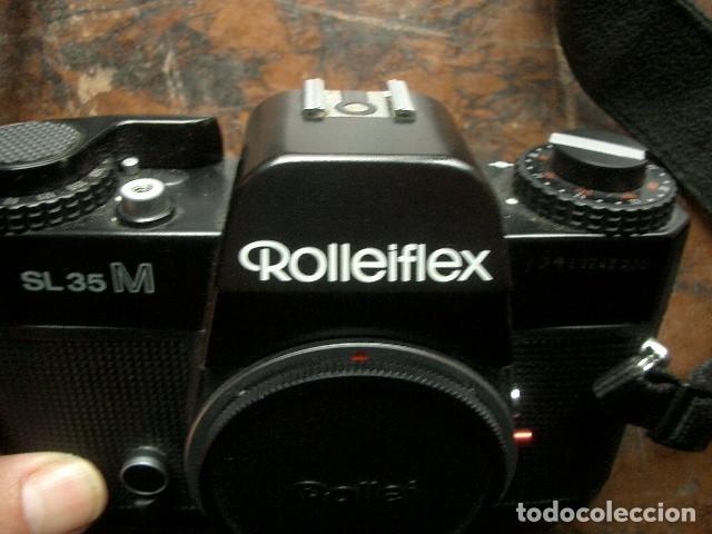 Cámara de fotos: Rolleiflex sl 35 M cuerpo - Foto 2 - 180459248