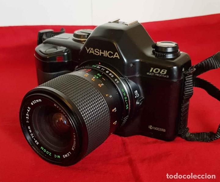 CÁMARA YASHICA 108 MULTIPROGRAM (Cámaras Fotográficas - Réflex (no autofoco))