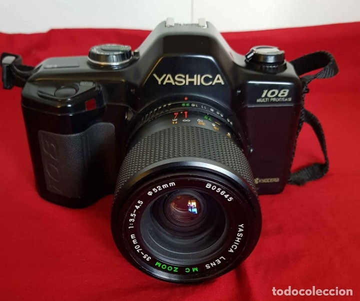 Cámara de fotos: CÁMARA YASHICA 108 MULTIPROGRAM - Foto 3 - 181400117