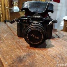 Cámara de fotos: CÁMARA FOTOGRÁFICA CANON F1 CON OBJETIVO 50MM 1: 1.4 S.S.C Y FUNDA ORIGINAL. Lote 94294062