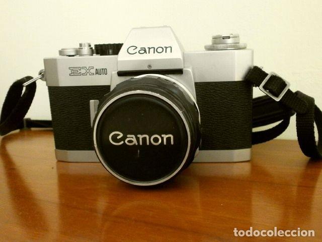 Cámara de fotos: Cámara CANON EX auto (años 70) Equipo Completo: Cámara + 4 Objetivos (50, 35, 95 y 125 mm) + filtro - Foto 2 - 181596315
