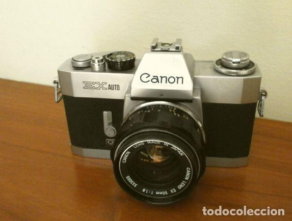 Cámara de fotos: Cámara CANON EX auto (años 70) Equipo Completo: Cámara + 4 Objetivos (50, 35, 95 y 125 mm) + filtro - Foto 3 - 181596315