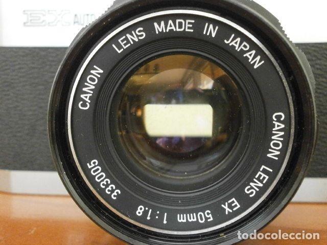 Cámara de fotos: Cámara CANON EX auto (años 70) Equipo Completo: Cámara + 4 Objetivos (50, 35, 95 y 125 mm) + filtro - Foto 4 - 181596315