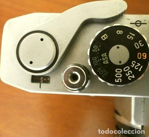 Cámara de fotos: Cámara CANON EX auto (años 70) Equipo Completo: Cámara + 4 Objetivos (50, 35, 95 y 125 mm) + filtro - Foto 6 - 181596315