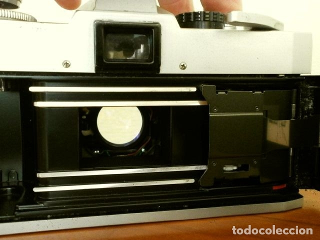 Cámara de fotos: Cámara CANON EX auto (años 70) Equipo Completo: Cámara + 4 Objetivos (50, 35, 95 y 125 mm) + filtro - Foto 9 - 181596315
