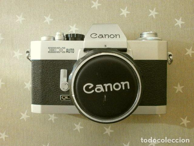 Cámara de fotos: Cámara CANON EX auto (años 70) Equipo Completo: Cámara + 4 Objetivos (50, 35, 95 y 125 mm) + filtro - Foto 11 - 181596315