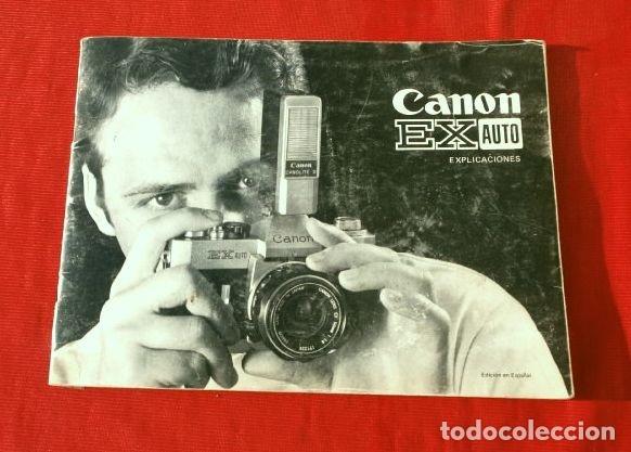 Cámara de fotos: Cámara CANON EX auto (años 70) Equipo Completo: Cámara + 4 Objetivos (50, 35, 95 y 125 mm) + filtro - Foto 16 - 181596315