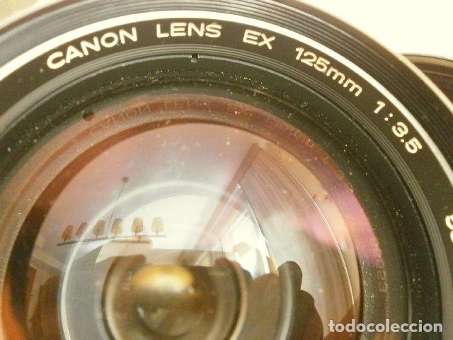 Cámara de fotos: Cámara CANON EX auto (años 70) Equipo Completo: Cámara + 4 Objetivos (50, 35, 95 y 125 mm) + filtro - Foto 20 - 181596315