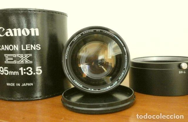 Cámara de fotos: Cámara CANON EX auto (años 70) Equipo Completo: Cámara + 4 Objetivos (50, 35, 95 y 125 mm) + filtro - Foto 21 - 181596315