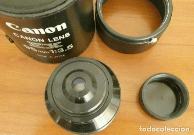 Cámara de fotos: Cámara CANON EX auto (años 70) Equipo Completo: Cámara + 4 Objetivos (50, 35, 95 y 125 mm) + filtro - Foto 23 - 181596315