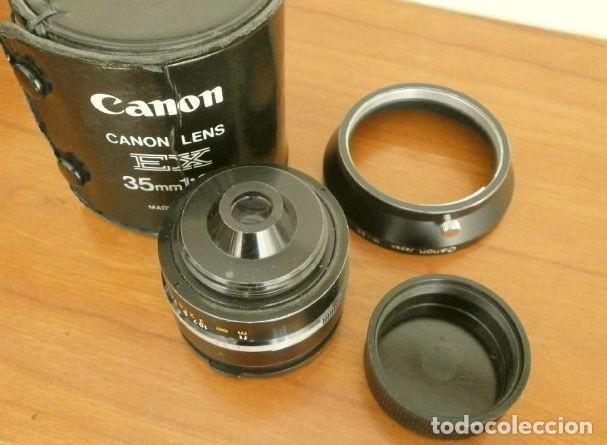 Cámara de fotos: Cámara CANON EX auto (años 70) Equipo Completo: Cámara + 4 Objetivos (50, 35, 95 y 125 mm) + filtro - Foto 26 - 181596315