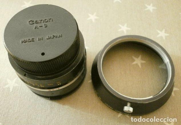Cámara de fotos: Cámara CANON EX auto (años 70) Equipo Completo: Cámara + 4 Objetivos (50, 35, 95 y 125 mm) + filtro - Foto 29 - 181596315