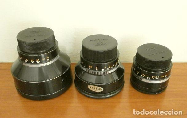 Cámara de fotos: Cámara CANON EX auto (años 70) Equipo Completo: Cámara + 4 Objetivos (50, 35, 95 y 125 mm) + filtro - Foto 30 - 181596315