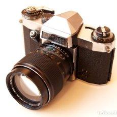 Cámara de fotos: *C1968* · PENTACON PRAKTICA PL NOVA IB + (EXC) TELE AUTO-BEROFLEX F2.8 135MM + TUBOS MACRO. Lote 182119343