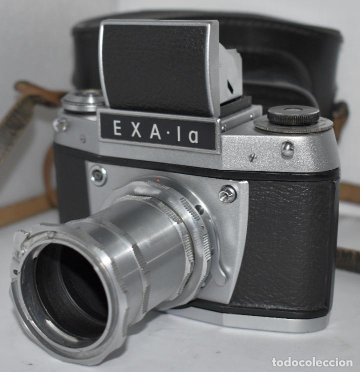 Cámara de fotos: IHAGEE EXA 1 A,CUERPO+FUNDA+ANILLOS.CAMARA REFLEX MANUAL,ALEMANIA, DDR,1977.MUY BUEN ESTADO.FUNCIONA - Foto 3 - 182362460
