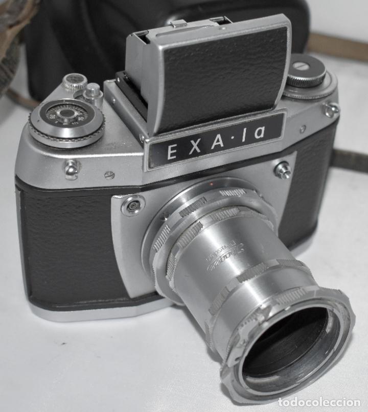 Cámara de fotos: IHAGEE EXA 1 A,CUERPO+FUNDA+ANILLOS.CAMARA REFLEX MANUAL,ALEMANIA, DDR,1977.MUY BUEN ESTADO.FUNCIONA - Foto 4 - 182362460
