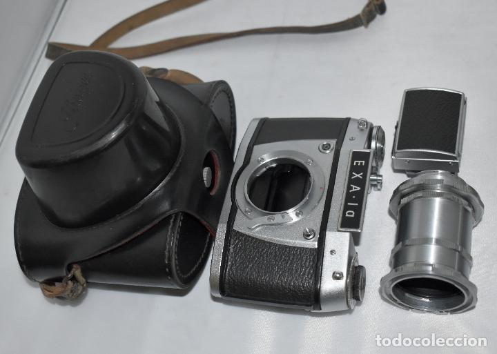Cámara de fotos: IHAGEE EXA 1 A,CUERPO+FUNDA+ANILLOS.CAMARA REFLEX MANUAL,ALEMANIA, DDR,1977.MUY BUEN ESTADO.FUNCIONA - Foto 5 - 182362460