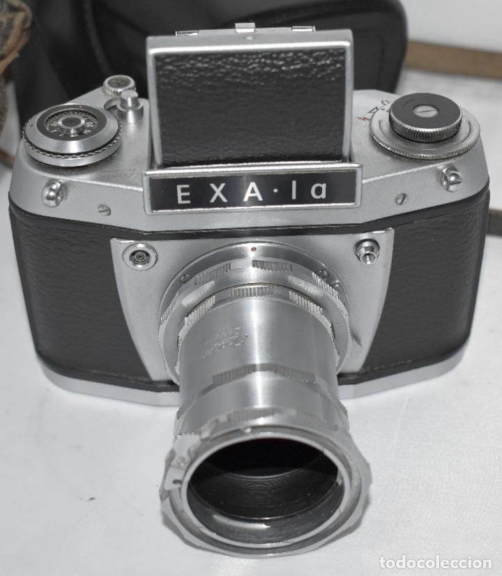 Cámara de fotos: IHAGEE EXA 1 A,CUERPO+FUNDA+ANILLOS.CAMARA REFLEX MANUAL,ALEMANIA, DDR,1977.MUY BUEN ESTADO.FUNCIONA - Foto 9 - 182362460