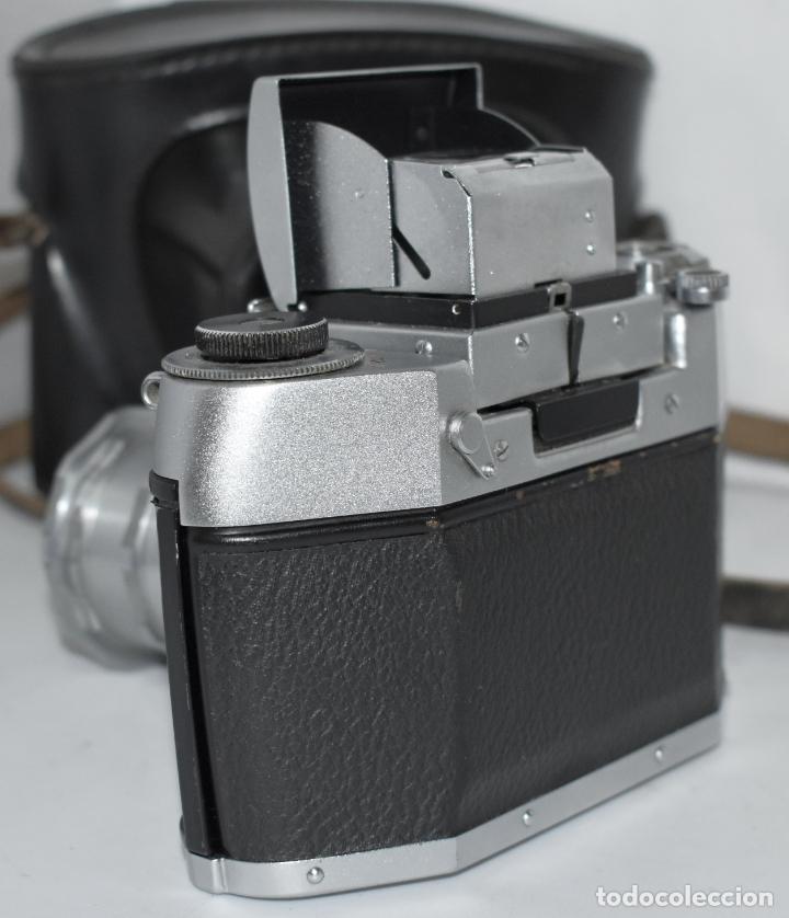 Cámara de fotos: IHAGEE EXA 1 A,CUERPO+FUNDA+ANILLOS.CAMARA REFLEX MANUAL,ALEMANIA, DDR,1977.MUY BUEN ESTADO.FUNCIONA - Foto 13 - 182362460
