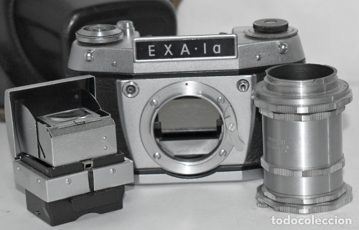 Cámara de fotos: IHAGEE EXA 1 A,CUERPO+FUNDA+ANILLOS.CAMARA REFLEX MANUAL,ALEMANIA, DDR,1977.MUY BUEN ESTADO.FUNCIONA - Foto 22 - 182362460