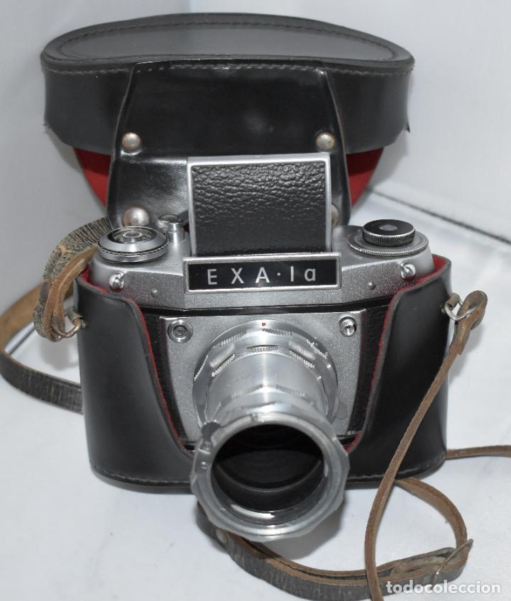 IHAGEE EXA 1 A,CUERPO+FUNDA+ANILLOS.CAMARA REFLEX MANUAL,ALEMANIA, DDR,1977.MUY BUEN ESTADO.FUNCIONA (Cámaras Fotográficas - Réflex (no autofoco))