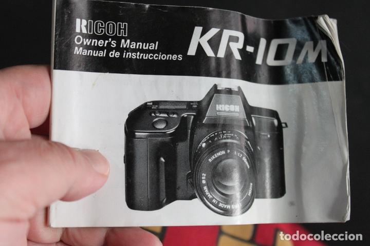 Cámara de fotos: Cuerpo Ricoh KR-10 M + folleto en castellano - Foto 5 - 182975671