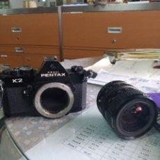 Cámara de fotos: CAMARA + OBJETIVO. CAMARA REFLEX PENTAX ASAHI K2 PROFESIONAL. Lote 183317895