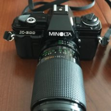 Cámara de fotos: CÁMARA RÉFLEX ANALÓGICA MINOLTA X-300. Lote 183325271