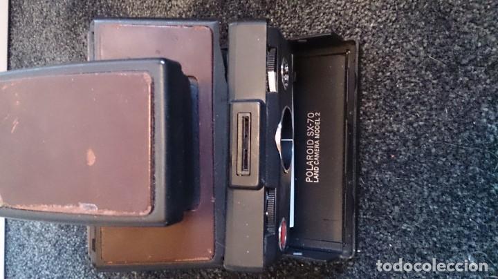 Cámara de fotos: Polaroid SX 70 Land Camera Model 2 con Flasch PK 70 XB - Foto 3 - 183531322