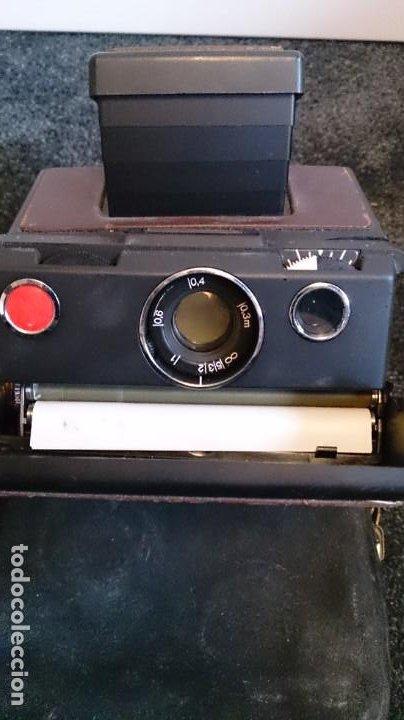 Cámara de fotos: Polaroid SX 70 Land Camera Model 2 con Flasch PK 70 XB - Foto 4 - 183531322