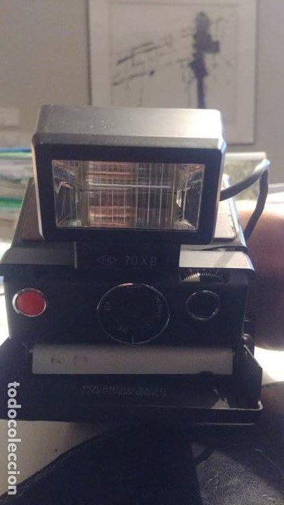 Cámara de fotos: Polaroid SX 70 Land Camera Model 2 con Flasch PK 70 XB - Foto 20 - 183531322
