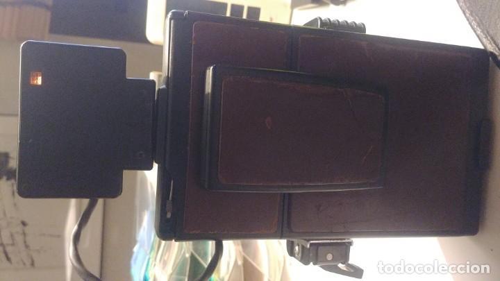 Cámara de fotos: Polaroid SX 70 Land Camera Model 2 con Flasch PK 70 XB - Foto 13 - 183531322