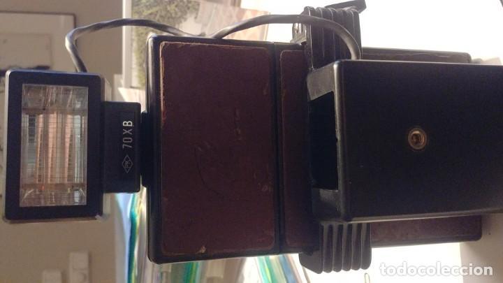 Cámara de fotos: Polaroid SX 70 Land Camera Model 2 con Flasch PK 70 XB - Foto 14 - 183531322