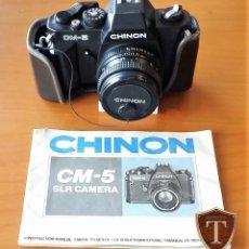 Cámara de fotos: CÁMARA REFLEX CHINON CM- 5. Lote 184446828