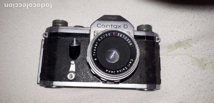 CONTAX D + TESSAR, DE COLECCION (Cámaras Fotográficas - Réflex (no autofoco))
