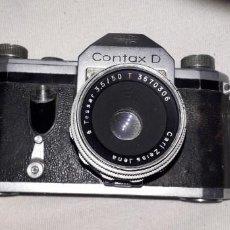 Cámara de fotos: CONTAX D + TESSAR, DE COLECCION. Lote 26830742