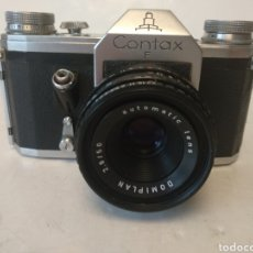 Cámara de fotos: REFLEX CONTAX F. AÑO 1957 .FUNCIONA.OFERTON. Lote 186208398