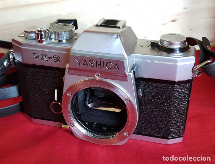 Cámara de fotos: CAMARA YASHICA FX2, con zoom 80/200 - Foto 7 - 186431321