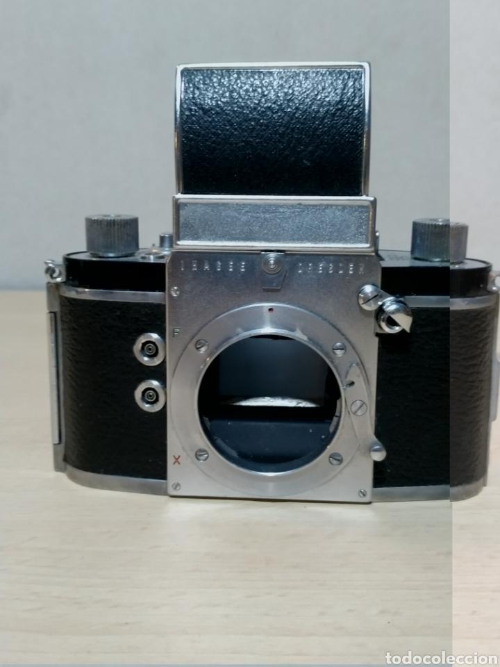 Cámara de fotos: Ihagee Exa version 6 SLR 35 mm - Dresden 1961 - Foto 7 - 190316476