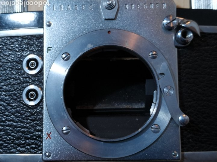 Cámara de fotos: Ihagee Exa version 6 SLR 35 mm - Dresden 1961 - Foto 18 - 190316476