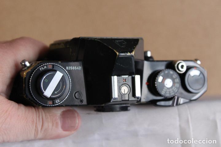 Cámara de fotos: Cuerpo Pentax KM + funda de cuero - Foto 2 - 190591805