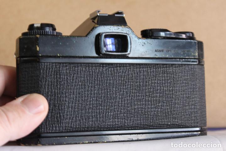 Cámara de fotos: Cuerpo Pentax KM + funda de cuero - Foto 3 - 190591805