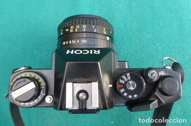 Cámara de fotos: Camara Reflex Ricoch KR 5..Japon. Objetivo 55mm, 2,2.Carga y dispara....Preciosa - Foto 4 - 191264902
