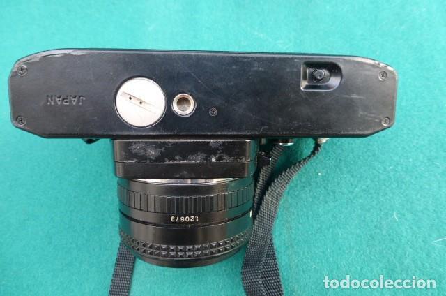 Cámara de fotos: Camara Reflex Ricoch KR 5..Japon. Objetivo 55mm, 2,2.Carga y dispara....Preciosa - Foto 6 - 191264902