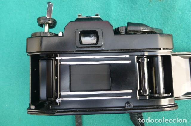 Cámara de fotos: Camara Reflex Ricoch KR 5..Japon. Objetivo 55mm, 2,2.Carga y dispara....Preciosa - Foto 7 - 191264902
