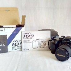 Cámara de fotos: YASHICA 109 MULTIPROGRAM (KYOCERA 35MM SLR CAMERA). Lote 191786237